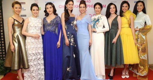 Một số thông tin về cuộc họp báo Chung khảo phía Nam Hoa hậu Việt Nam
