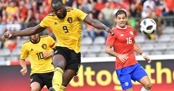 Bỉ hủy diệt Costa Rica bằng 5 bàn thắng, thể hiện sức mạnh trước thềm World Cup