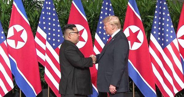 Lãnh đạo Mỹ-Triều có cuộc gặp lịch sử tại Singapore