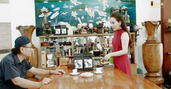 Hướng dẫn cách pha cà phê đơn giản, tiện lợi nhất cùng nữ hoàng Doanh nhân Kim Chi