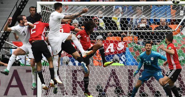 World Cup 2018: Uruguay thắng nhọc Ai Cập tỉ số sát nút ở ngày ra quân