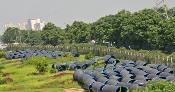 Ngổn ngang đường nước sông Đà giai đoạn 2 hơn 700 tỉ đồng
