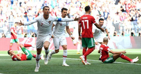 World Cup 2018: Bồ Đào Nha nhọc nhằn vượt qua Maroc lượt trận thứ 2