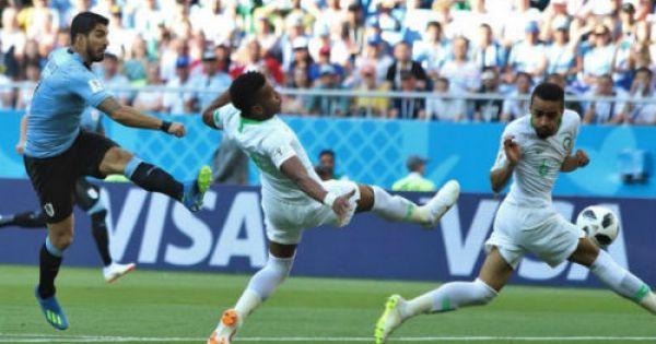 World Cup 2018: Uruguay vượt qua Ả Rập Saudi, đoạt vé vào vòng trong