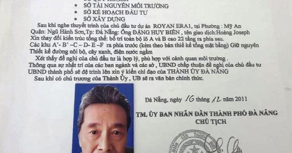 """""""Sếp"""" công ty TNHH Đầu tư xây dựng công nghệ Hoàng Châu giả chữ ký chủ tịch thành phố lừa bán đất dự án"""