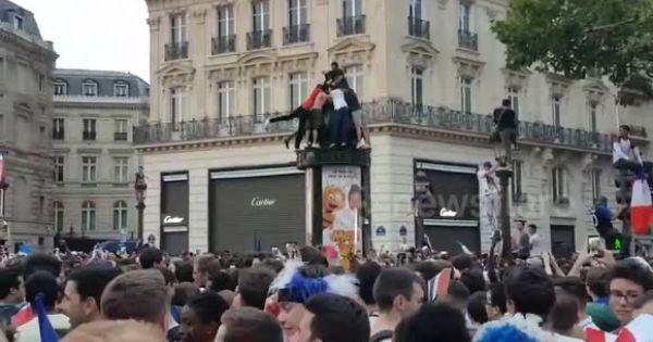 Pháp: Tình trạng bạo động hậu World Cup có nguy cơ vượt ngoài kiểm soát