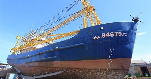 Doanh nghiệp đóng tàu khởi kiện ngư dân Quảng Nam