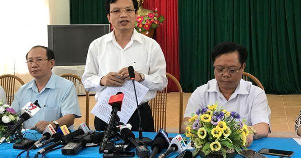 Khởi tố vụ án gian lận trong thi cử tại Sơn La