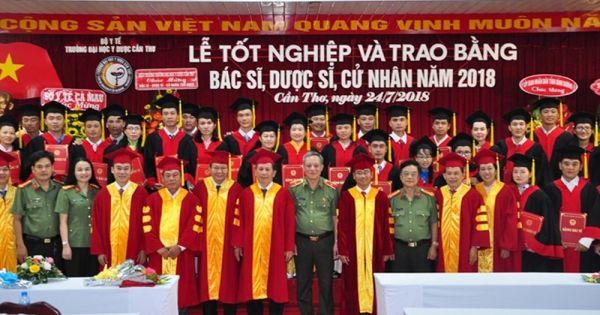 Gần 70 sinh viên Cà Mau không được nhận bằng tốt nghiệp của trường Đại học Y Dược Cần Thơ