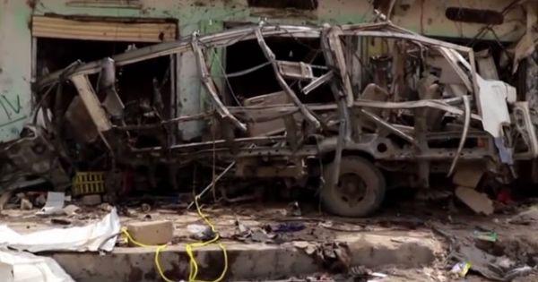 Yemen: Xe buýt chở trẻ em bị không kích gây nhiều thương vong