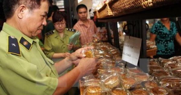 Hà Nội lập 3 đoàn kiểm tra an toàn thực phẩm bánh Trung thu
