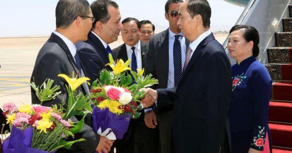 Điểm báo ngày 27/08/2018:Chủ tịch nước Việt Nam thăm chính thức Ai Cập