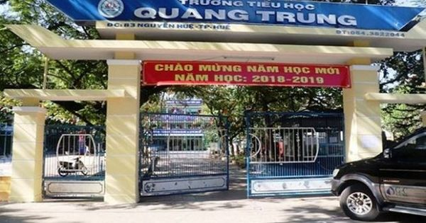 Trường Tiểu học Quang Trung phải trả lại phụ huynh hơn 300 triệu thu sai quy định