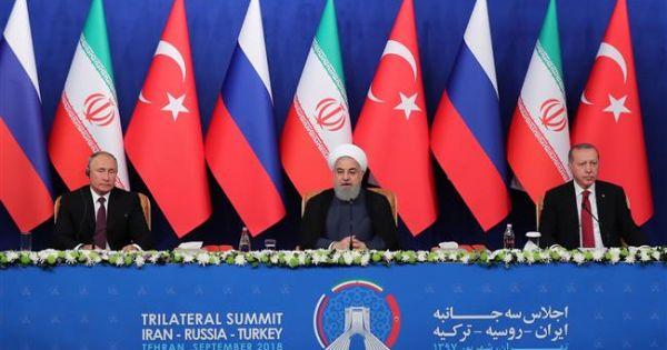 Lãnh đạo Nga-Thổ-Iran không đạt được thỏa thuận về Idlib
