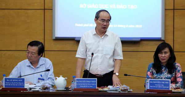 Chủ tịch UBND TP HCM đồng ý miễn học phí bậc THCS