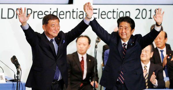 Nhật Bản: Thủ tướng Shinzo Abe tái đắc cử chức Chủ tịch đảng LDP cầm quyền