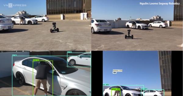 Robot AI phòng chống tội phạm