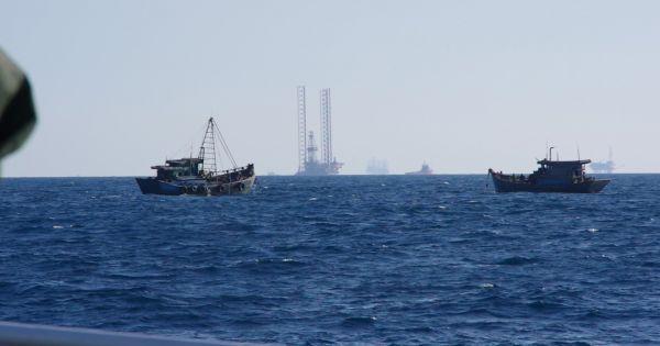 Phát hiện 18 tàu cá vi phạm hành lang an toàn đường ống dẫn khí dưới biển