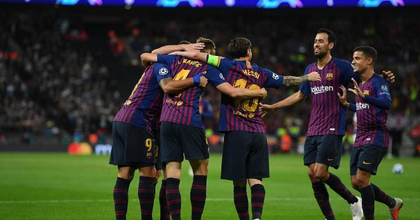 Messi lập cú đúp, Barca nhấn chìm Tottenham ngay tại Wembley