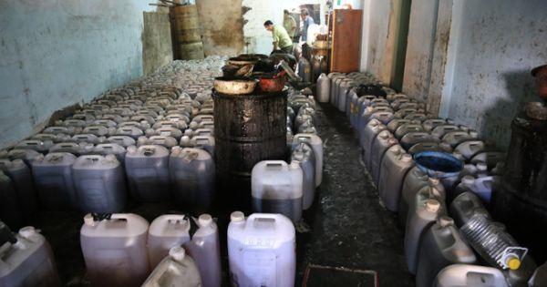 TPHCM: Hãi hùng những cơ sở chế biến dầu ăn, hành phi bẩn