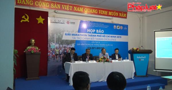 Khởi động giải Marathon quốc tế TP HCM 2019