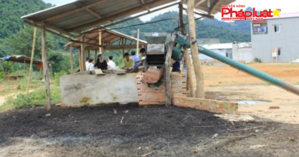 Sơn La: Tạm dừng hoạt động cơ sở sơ chế cà phê gây ô nhiễm