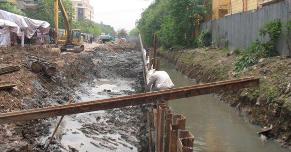 Hà Nội thu hồi dự án mương Phan Kế Bính làm đường Liễu Giai kéo dài