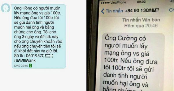 Tạm giữ 2 nghi phạm nhắn tin tống tiền lãnh đạo Văn phòng Đoàn đại biểu Quốc hội