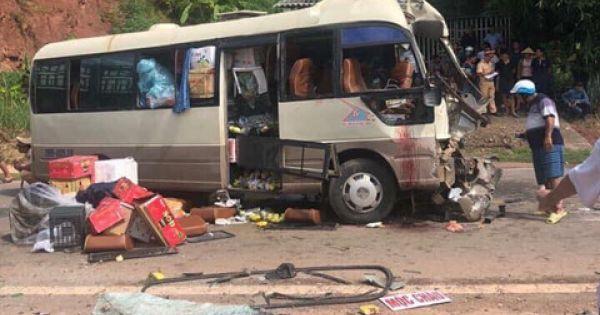 Tai nạn nghiêm trọng tại Sơn La, ít nhất 12 người bị thương