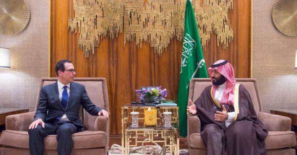 Bộ trưởng Tài chính Mỹ gặp Thái tử Ả Rập Saudi bất chấp căng thẳng