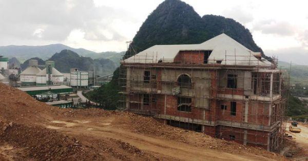 """Công trình """"khủng"""" không phép """"mọc"""" giữa Khu Kinh tế Nghi Sơn"""