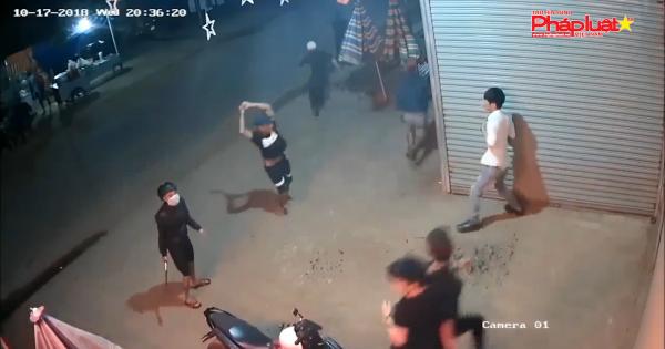 Hỗn chiến kinh hoàng như phim ở Lâm Đồng