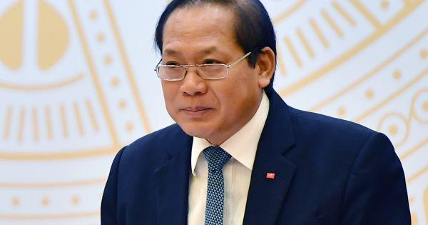 Quốc hội phê chuẩn miễn nhiệm chức vụ Bộ trưởng TT-TT với ông Trương Minh Tuấn