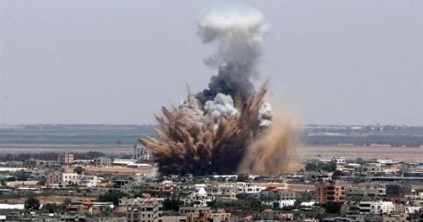 Dải Gaza: Israel không kích trả đũa các mục tiêu của Hamas