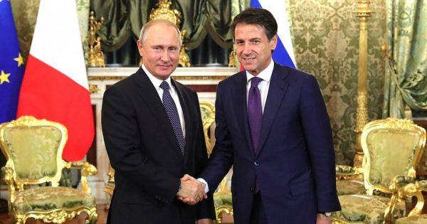 Nga – Italy tăng cường hợp tác song phương bất chấp lệnh trừng phạt