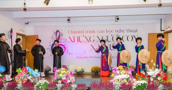 """Chương trình """"Văn học nghệ thuật những người con xa xứ"""": Lưu giữ bản sắc dân tộc của cộng đồng người Việt tại CHLB Đức"""