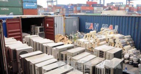 Chỉ có 1/5 phế liệu tồn ở cảng Cát Lái có người nhận