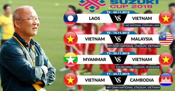 AFF Suzuki Cup 2018: Đài SBS Hàn Quốc sẽ tiếp sóng các trận đấu của tuyển Việt Nam