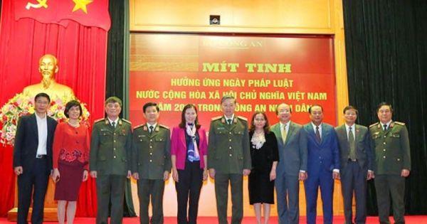 Bộ trưởng Bộ Tư pháp đánh giá cao ngày Pháp luật Việt Nam