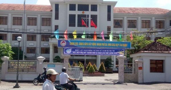 UBND tỉnh Cà Mau yêu cầu làm rõ các nội dung thanh tra về sai phạm đất đai