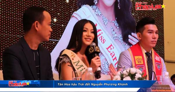 Hoa hậu Trái đất 2018 Nguyễn Phương Khánh giao lưu với giới truyền thông