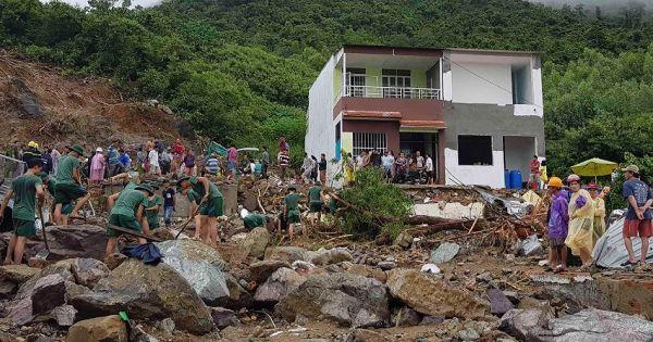 90.000 học sinh TP Nha Trang được nghỉ học do lũ lụt