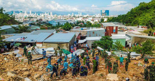 Cuộc sống không nhà của người dân Nha Trang sau trận sạt lở