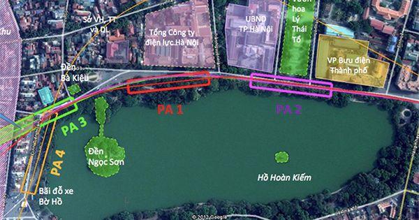 Tàu điện ngầm qua Hồ Gươm được áp dụng công nghệ chống rung