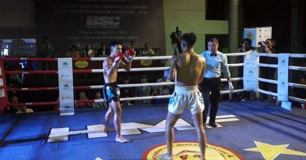 TP HCM: Chung Kết Giải Vô địch Muay trẻ và tranh đai vô địch USC