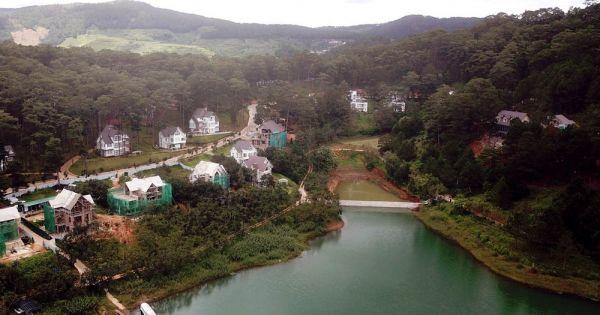 Làm rõ trách nhiệm việc Khu du lịch Quốc gia hồ Tuyền Lâm bị xâm hại