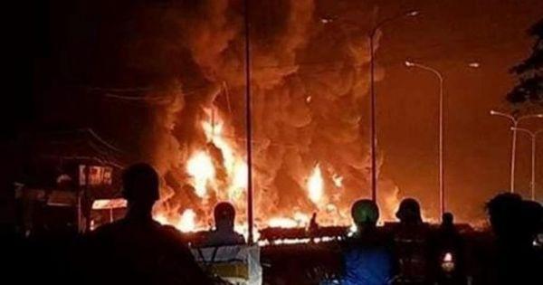 Sẽ khởi tố vụ xe bồn chở xăng lật, phát hỏa khiến 6 người tử vong