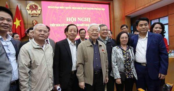 Tổng Bí thư, Chủ tịch nước nói về việc xử lý kỷ luật ông Chu Hảo