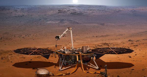 Tàu thám hiểm của NASA đổ bộ thành công xuống sao Hỏa