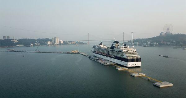 Hạ Long: Cảng tàu khách nghìn tỉ đón chuyến tàu quốc tế siêu sang đầu tiên